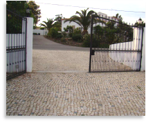 Driveways, gates and fences